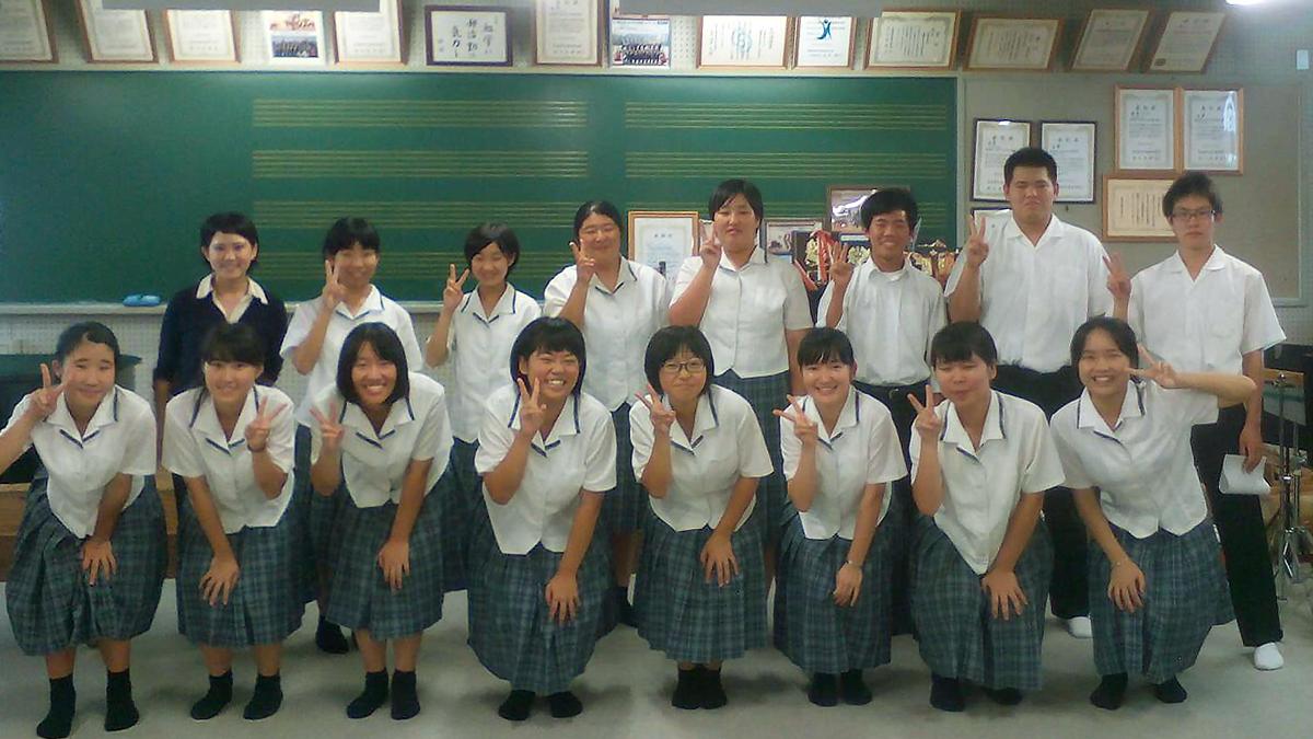 南宇和高等学校吹奏楽部